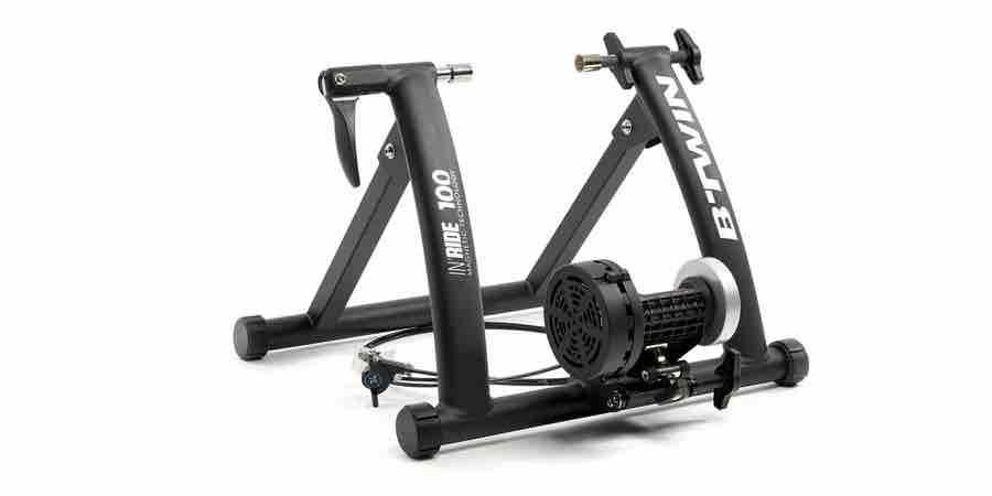 Rodillo de bicicleta decathlon BTWIN In ride 100, rodillo bici decathlon, rodilos para biciletas usados, ofertas rodillos para bicicletas, rodillo decathlon, rodillo de rulos decathlon
